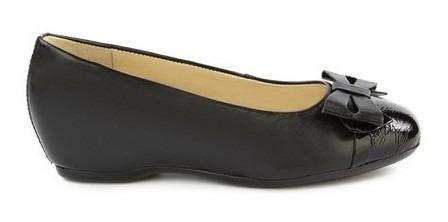 Zapato Onena Mujer Piel Negro 7765