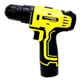 Parafusadeira E Furadeira Hammer Pli12 3/8 Sem Fio Bivolt