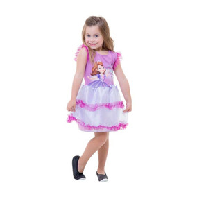Roupa De Princesa Sofia Infantil Original Disney Junior