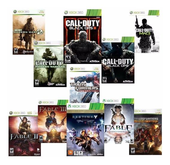 Combo 11 Jogos Midia Digital Xbox 360