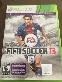 Juego Xbox360 Fifa13 Original, Usado, Caba