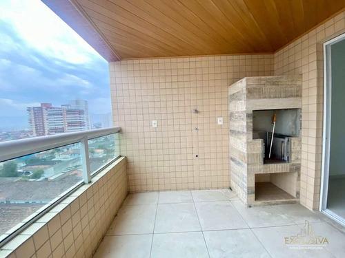 Imagem 1 de 15 de Apartamento Com 3 Dorms, Guilhermina, Praia Grande, Cod: 71 - A71