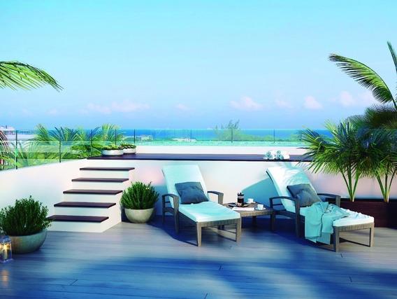 Departamento Nuevo Avenida 15 , Playa Del Carmen, Excelente Inversion Para Renta V