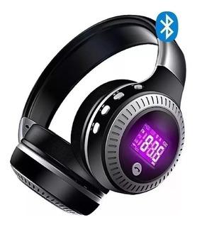 Auricular Bluetooth Zealot B19 Radio Pantalla Lcd