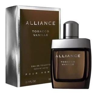 Perfume Alliance Tobacco Vanille Edt 80m Hombre Cuotas Fijas