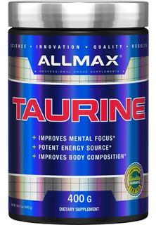 Taurina Allmax 400g - Importada - Frete Região Nordeste