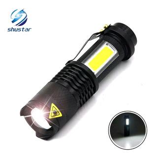 Lanterna Tática Militar Luz De Emergência Shustar
