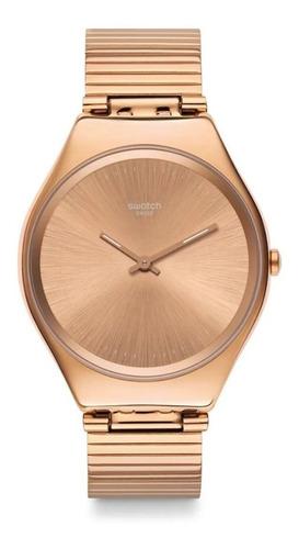 Reloj Swatch De Mujer Skin Irony Rosé Syxg101gg