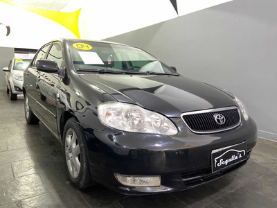 Toyota Corolla 1.8 16v Se-g Aut. 4p 2004 Blindado