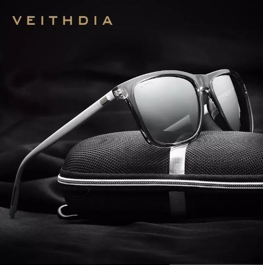 Óculos De Sol Veithdia Uv400 Lentes Polarizadas Ad32