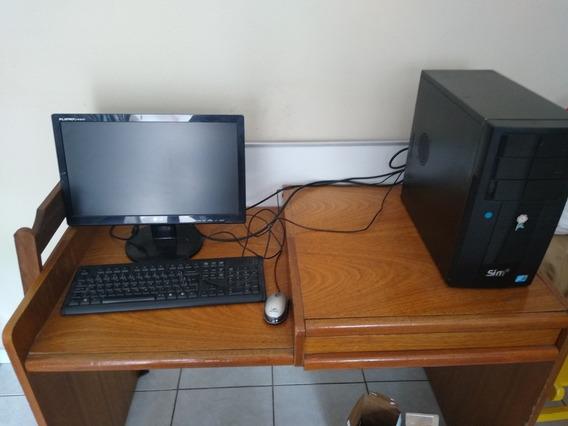 Pc Básico + Monitor Lg 14