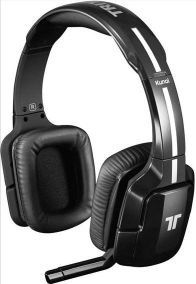 Headset Gamer Tritton Kunai Inalámbricos Color Negro Usados