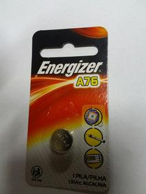 Bateria A76 Lr44 Alcalina Energizer Kit Com 20