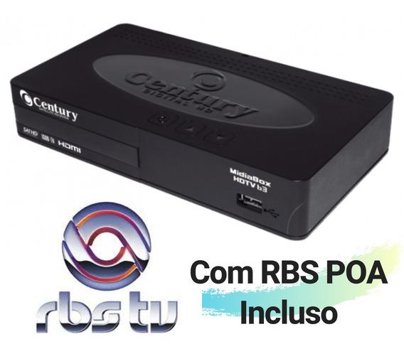 Receptor Parabolica Century B3 C/rbs Poa Habilitado Digital