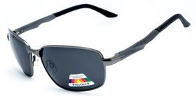 389f662af Óculos De Sol Masculino Esportivo Polarizado Alumínio 2039