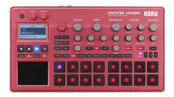 Módulo Korg Electribe 2s Rd Sampler Vermelho Groove Box