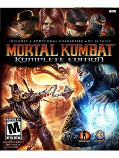 Mortal Kombat 9 - Mídia Digital - Xbox 360