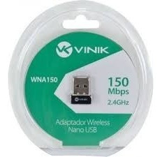 Adaptador Usb Nano Wireless Padrão 802.11b/g/n - 150 Mbps -