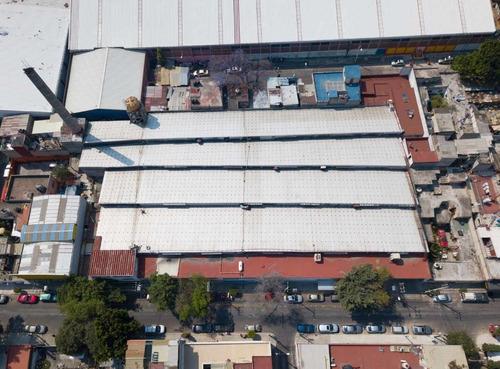 Imagen 1 de 11 de Bodega Nave Industrial En Renta, Azcapotzalco, Ciudad De México