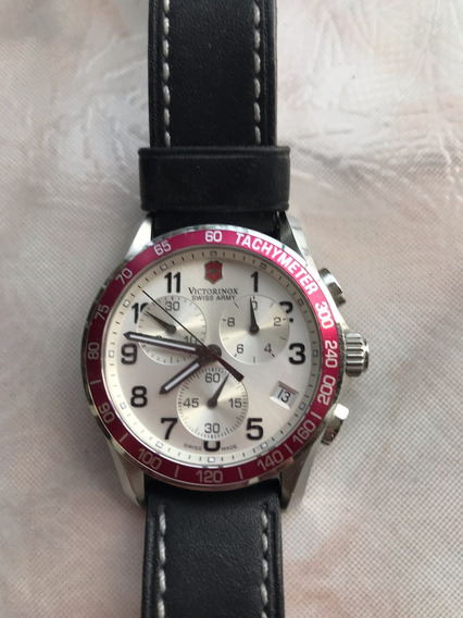 Elegante Reloj Victorinox Swiss Para Caballero