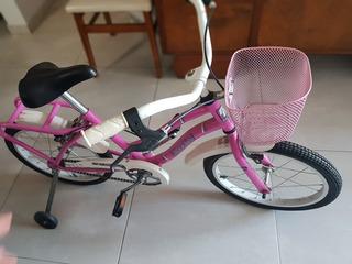 Bicicleta Nena Bluebird Cruise Rodado 12