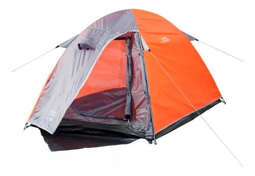 Imagen 1 de 6 de Carpa Camping National Geographic Para 4 Personas   Xenex  