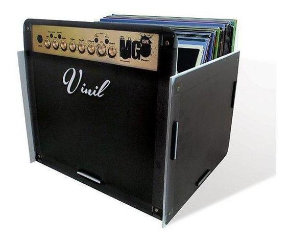 Porta Disco Vinil Amplificador
