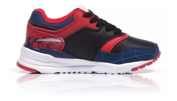 Zapatillas Spiderman Marvel Azul/rojo Sin Luces Fty Calzados