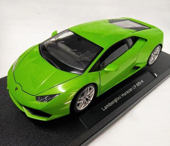 Lamborghini Huracan Lp 610-4 Escala 1/18 Welly
