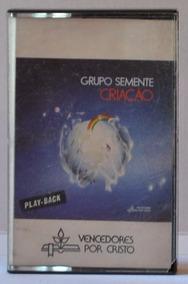 Fita K7 - Grupo Semente: Criação - 1986 - Play-back