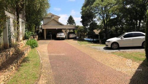 Imagem 1 de 30 de Casa Com 4 Dormitórios À Venda, 384 M² Por R$ 1.700.000 - Fazendinha - Granja Viana - Carapicuíba/sp - Ca2117