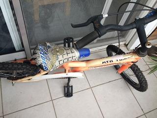 Bicicleta Niño Usada Muy Buen Estado Con Ruedas Desmontables