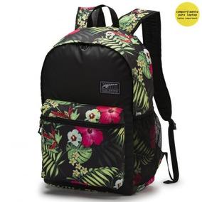 Mochila Puma Academy Floral 075733-23 Original Lançamento