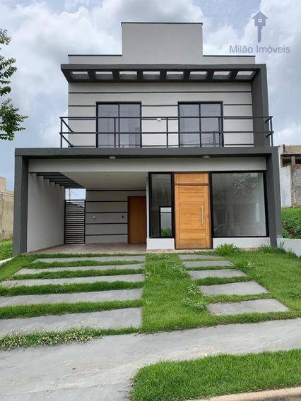 Casa/sobrado 3 Dormitórios À Venda, 160m², Condomínio Terras De São Francisco Em Sorocaba/sp - So0180