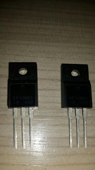 Kit 4 Pçs Transistor Mosfet 10n60