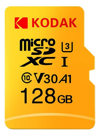 Cartão Micro Sd Kodak 128gb Tf Cartão U3 A1 Cartão De Memóri