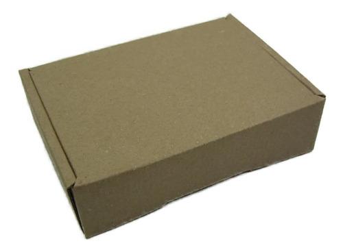 Imagen 1 de 3 de Caja Empaque Envíos Carton Microcorrugado 19x13x5cm, 200pzs