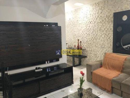Imagem 1 de 14 de Casa Térrea Com 2 Dormitórios À Venda, 113 M² Por R$ 430.000 - Alves Dias - São Bernardo Do Campo/sp - Ca0364