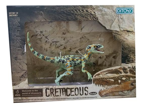 Cretaceous Dinosaurios 18 Cm Velociraptor