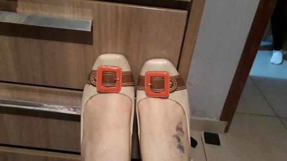 Sapato Confort, 38 Nude