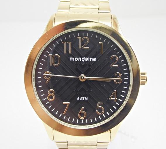 Relógio Feminino, Fundo Preto - Mondaine
