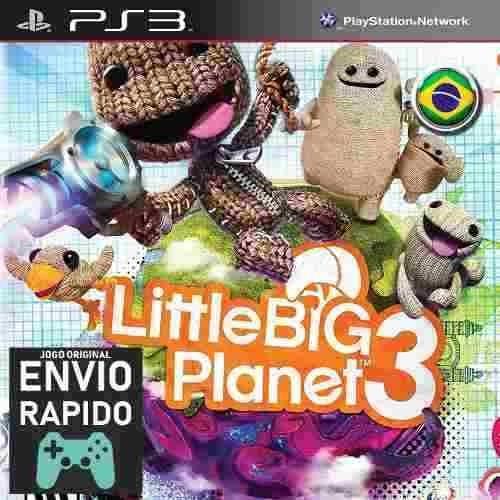 Littlebigplanet 3 Jogos Ps3 Jogo Infantil