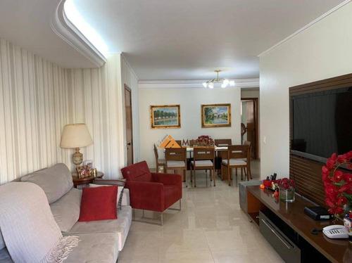 Imagem 1 de 30 de Apartamento Com 3 Dormitórios À Venda, 134 M² Por R$ 540.000,00 - Santa Cruz Do José Jacques - Ribeirão Preto/sp - Ap4582