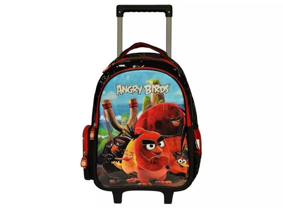 Mochilete Angry Birds Abc800401 +lancheira