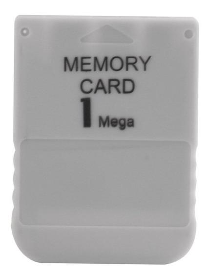 Cartão De Memória / Memory Card Para Playstation One Ps1