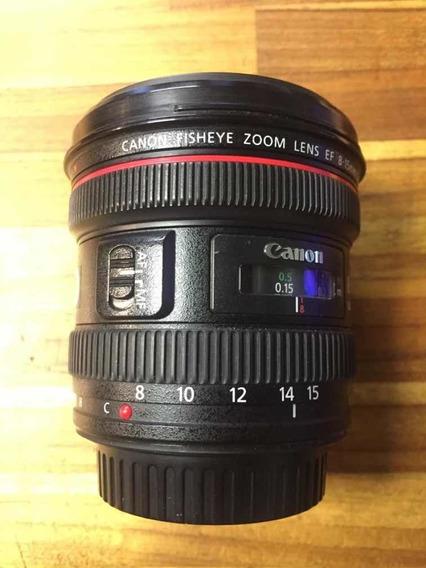 Lente Canon 8-15mm