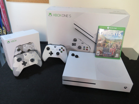 Xbox One S 1tb 2 Controles + Farcry 5