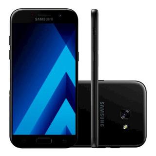 Samsung Galaxy A5 A520f 32gb 3gb Ram 16mp Preto Vitrine 2