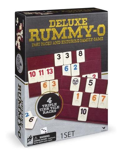 Imagen 1 de 2 de Juego de mesa Rummy-O Deluxe Spin Master