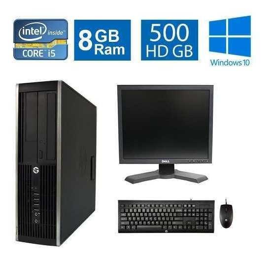 Computador Hp Elite 8300 I5 3° Geração 8gb 500gb Monitor 17